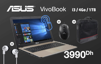 PC Portable ASUS X540UA Touch + Imprimante HP 2130