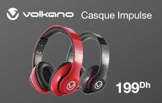 Bestmark - Casque VOLKANO Impulse Series