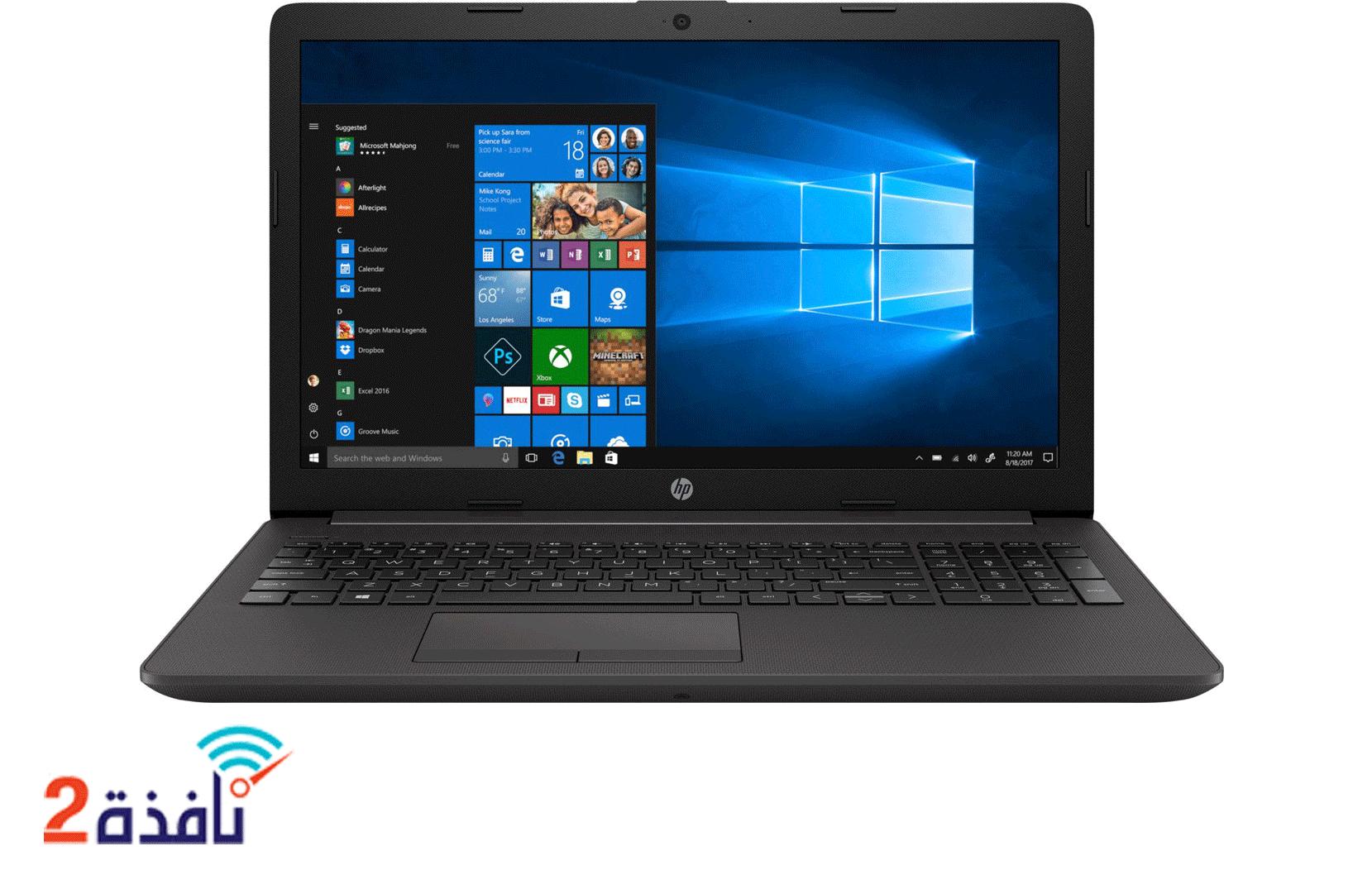 PC Portable HP 250 G7 /i3-1005G1 /3.4 GHz /4 Go /500 Go / 15.6