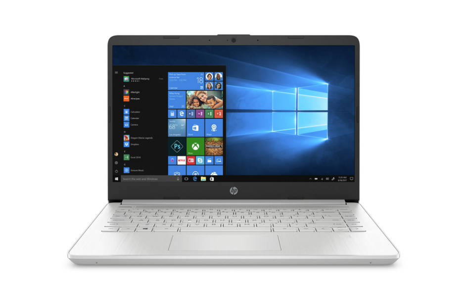 PC Portable HP 14s 14s-dq1002nk /i7-1065G7 /1,3 GHz jusqu'à 3,9 GHz /8 Go /512 Go SSD /14