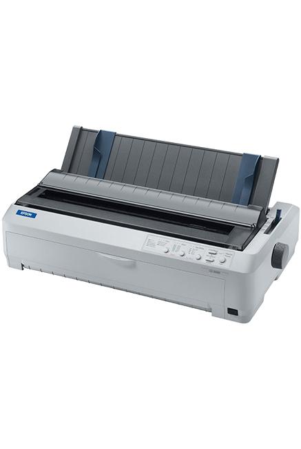 Imprimante EPSON Matricielle LQ 2090 /Impression /24 aiguilles /136 Colonnes /529 cps /360 x 180 DPI /USB - Ethernet - RS-232 /Blanc