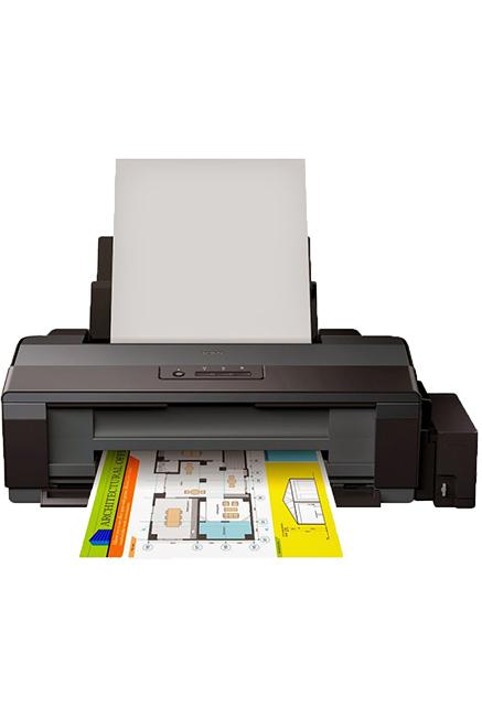 Imprimante EPSON EcoTank L1300 /Jet d'encre /Couleur /Impression /30 ppm Noir - 17 ppm Couleur /5706 x 1440 DPI /USB /A3+ - A3 - A4 - A5 - A6 /Noir