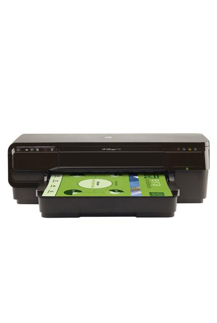 Imprimante HP Office Jet 7110 /Couleur /Impression /15 ppm - 8 ppm /600 x 1200 ppp /USB 2.0 - Ethernet - WiFi /A3 - A4 - A5 - A6 - B4 - B5 /Noir