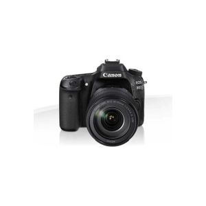 Appareil Photo CANON EOS 80D 18-55IS STM /Noir /22,3 - 14,9 mm /24,2 Mpx