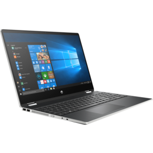 "PC Portable HP Pavilion X360 Touch /i5-10210U /1,6 GHz jusqu'à 4,2 GHz /8 Go /1 To /Silver /15.6"" /AMD Radeon 535 - 2 Go /FHD /Windows 10 Famille 64"