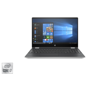 "PC Portable HP Pavilion X360 Touch /15-dq1003nk /Processeur Intel® Core™ i7-10510U /1,8 GHz /8 Go /1 To /Silver /15.6"" /FHD /AMD Radeon™ 535 - 2 Go /Windows 10 Home"