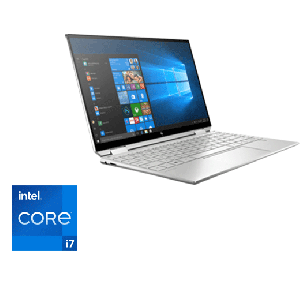 "PC Portable HP Spectre X360 /13-aw2004nk /Processeur Intel® Core™ i7-1165G7 /jusqu'à 4,7 GHz /8 Go /256 Go SSD /13.3"" /Intel® Iris® Xᵉ /Windows 10 Famille"