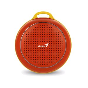 Enceinte GENIUS SP-906BT /Rouge/Bluetooth /100Hz - 20KHz /500 mAh
