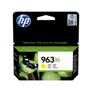 Cartouche HP 963XL High Yield Original Ink Cartridge /Jaune /OfficeJet Pro 9010 - 9013 /1600 pages