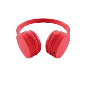 Casque ENERGY SISTEM BT1 /Bluetooth /Rouge /40Hz ~ 20KHz /300mAh