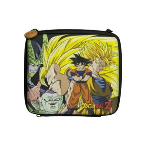 Pack d'accessoires KONIX /Dragon Ball  Z 2DS CLAN /6 /1 Chargeur - Allume igare - 1 cordon de charge USB /3 stylets / boîtes de jeu Dragon Ball Z /3 films de protection écran /1 chiffon de nettoyage