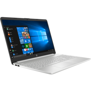 "PC Portable HP 15 /i5-1035G1 /Quad-Core /1,0 GHz /4 Go /256 Go SSD /Silver /15.6"" /FHD /Windows 10 Home"