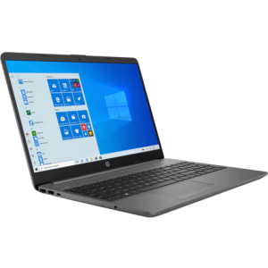 "PC Portable HP 15 /5-1035G1 /1,0 GHz jusqu'à 3,6 GHz /4 Go /1 To /Gris /15.6"" /Intel® UHD /Windows 10 Famille"