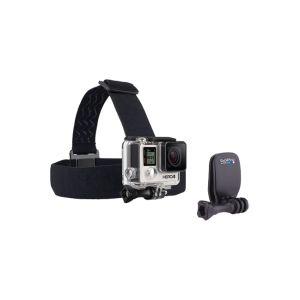 Support GOPRO /Frontale + QuickClip /Head strap - QuickClip -Thumb Screw /Pour : all GOPRO /Noir