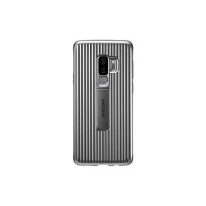 Cover SAMSUNG Renforcée Standing /Silver /Pour Galaxy S9+