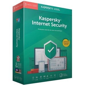 Antivirus KASPERSKY Internet Security 2021 /3 Postes