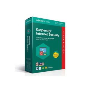 Internet Security Kaspersky 2019 /3 Postes /Multi-Devices