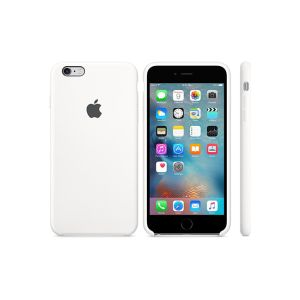 "Cover APPLE pour iPhone 6s en Silicone /4.7"" /Blanc"