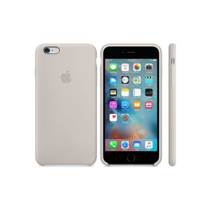 "Cover APPLE pour iPhone 6s Plus en Silicone /5.5"" /Gris Clair"