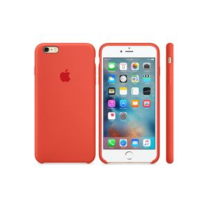 "Cover APPLE pour iPhone 6s en Silicone /4.7"" /Orange"
