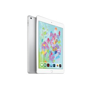 "iPad 128 Go /Silver /9.7"" /LED /Dalle IPS /2048 x 1536 pixels /128 Go /1.2 Mpx - 8 Mpx /4G - WiFi /Apple A10 /Apple iOS 11"