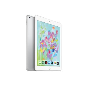 "iPad WiFi /9.7"" /Silver /LED /Dalle IPS /2048 x 1536 pixels /Apple A10 /128 Go /8 Mpx /Apple iOS 11"
