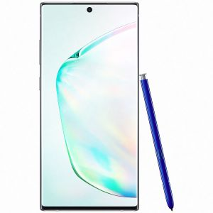 """SAMSUNG Galaxy Note 10+ /Silver /6.8"""" /Quad HD+ - Dynamic AMOLED /Octo-Core /2.7 GHz /12 Go /256 Go /10 Mpx - 16 + 12 + 12 Mpx /4300 mAh /IP68 /Android 9"""