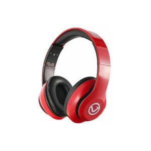 Casque VOLKANO Impulse Series /Bluetooth /Carte SD/ Rouge