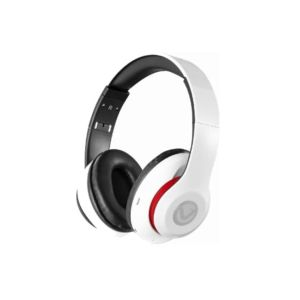 Casque VOLKANO Impulse Series /Bluetooth / Radio-FM/ Carte SD/ Blanc