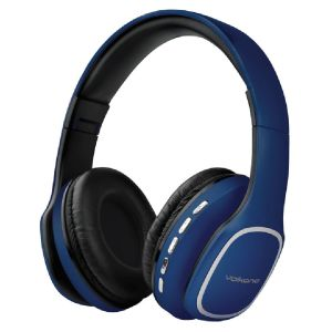 Casque Audio VOLKANO Phonic Series /Bleu /Bluetooth