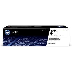 Toner HP 106A Original Laxer /Noir /Pour HP Laser 107 - 1035 -1037 /1000 Pages