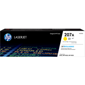 Toner HP 207A Original LaserJet Cartg /Jaune /1250 Pages