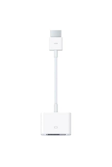 Adaptateur APPLE /Blanc /HDMI vers DVI /20mm /7cm