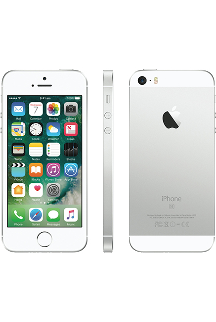 iPhone SE Retina 2016 /Silver /16 Go /4