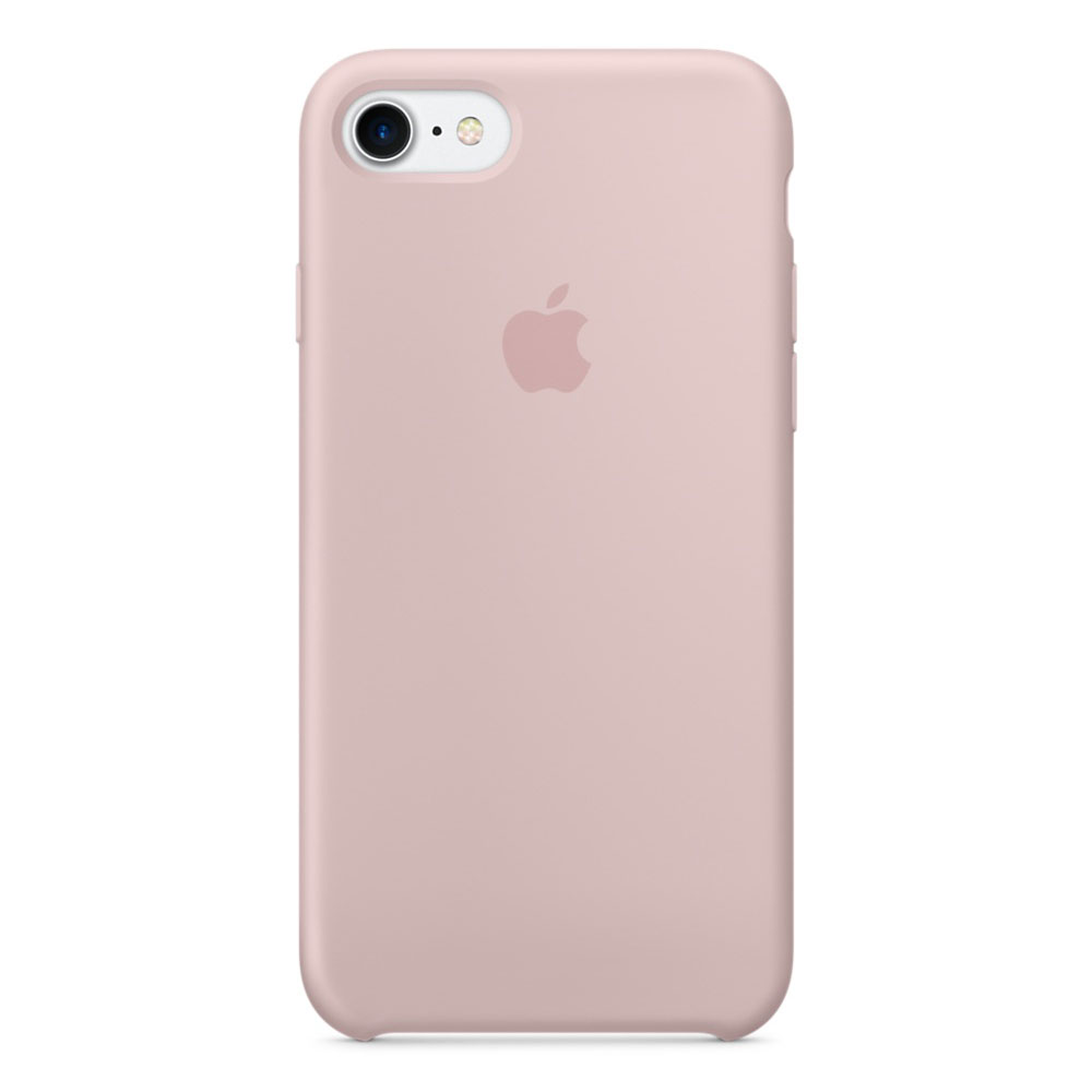 Cover Apple /Rose /En silicone /Pour iPhone 7