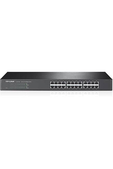 Switch TP-LINK /Rackable /Tl-SF1024 /24 Ports RJ45 /10-100Mbps /MDI-MDIX